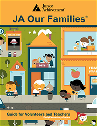 JA Our Families curriculum cover